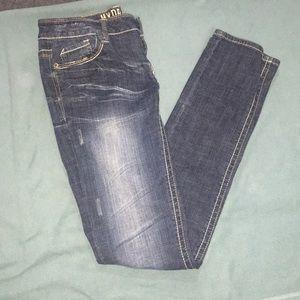 Hydraulic women's skinny jeans